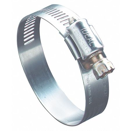 Hose Clamp, 3/8 to 7/8 In, SAE 6, SS, PK10