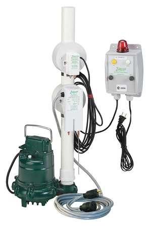 "3/10 HP 1-1/2"" Oil Guard Pump System 115V Piggyback"