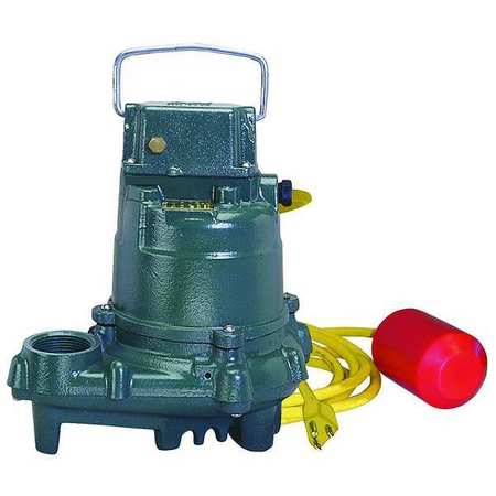 "3/10 HP 1-1/2"" Submersible Sump Pump 115V Tether"