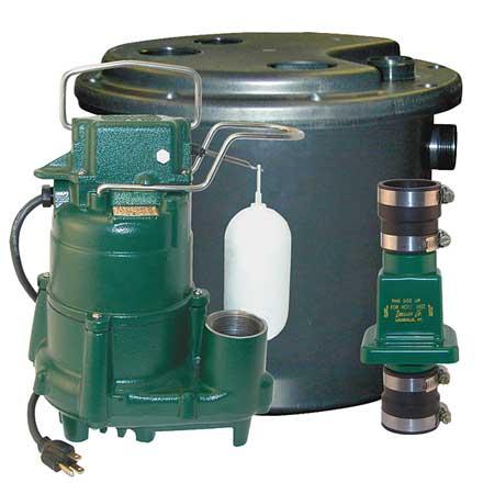 Drain Pump System, 1/2 HP, 115 V, 9.4 A