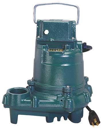 """3/10 HP 1-1/2"""" Submersible Sump Pump 115V"""
