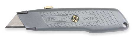 Utility Knife, 6 In., Gray