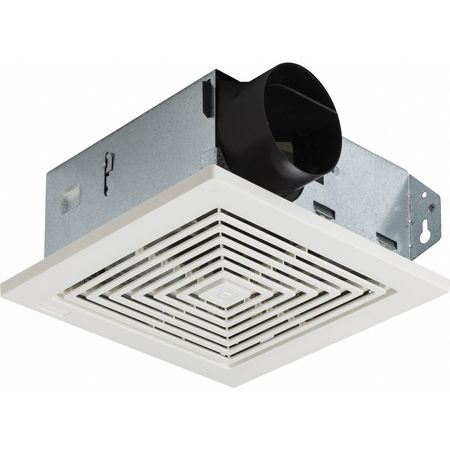 Broan Bathroom Fan, 60 CFM, 1.5A 689 | Zoro.com