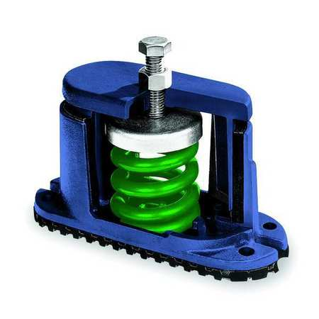 Floor Mount Vibration Isolator, Spring