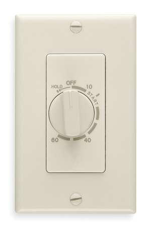 60 Minute Wall Timer, Ivory