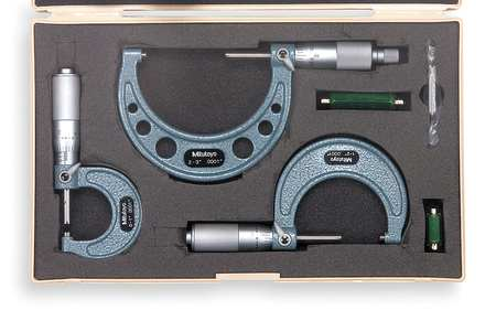 Micrometer Set, 0-3 In