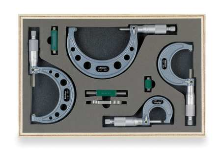 Micrometer Set, 0-4 In