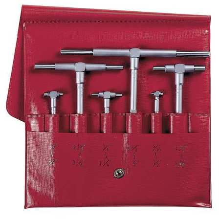 Telescoping Gage Set, 4 Pc, 2.126 In D