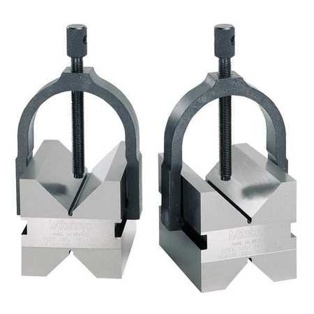 V Block/Clamp, 2 In Cap, PK2
