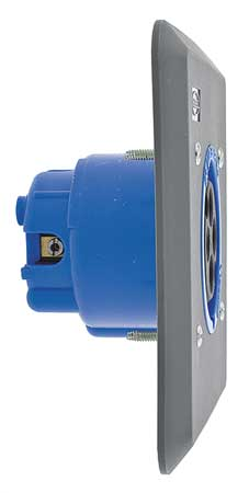IEC Pin and Sleeve Receptacle, 30A, 250V