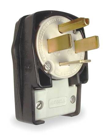 Angle Plug, 14-60P, 60A, 125/250V