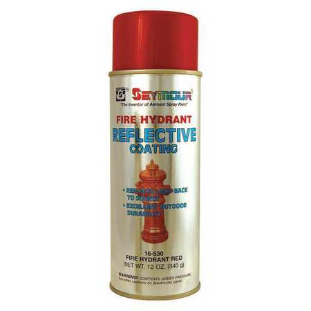 Seymour Of Sycamore Reflective Coating Red 12oz Pk6 16 530