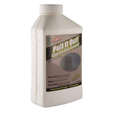 Chomp pull it out concrete stain remover 32oz min qty 12 for Concrete stain remover