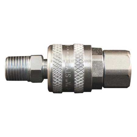 50DV30 A Style Coupler and Plug,1/4
