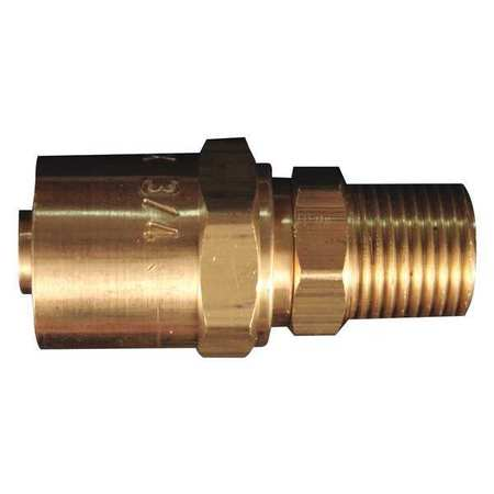 Reusable Hose End Fitting 3/8 MNPT PK5  sc 1 st  Zoro.com & Milton Reusable Hose End Fitting 3/8 MNPT PK5 622 | Zoro.com