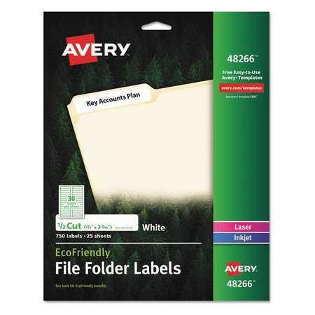 avery label 30up white pk750 48266 zoro com