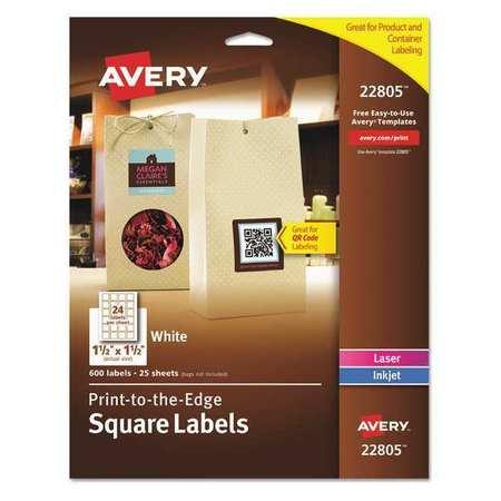 Avery Label 1 12x1 12 White Pk600 22805 Zoro