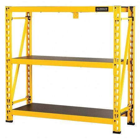 Industrial Storage Rack, 3 Shelf, 4 ft