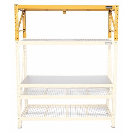 Industrial Storage Rack, 2 ft H Ext. Kit