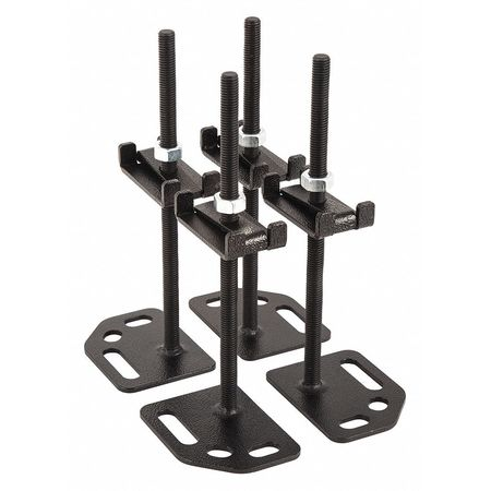 Adjustable,  Floor Mounting Plate 4PK