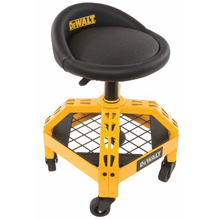 Adjustable, Shop Stool, with Casters