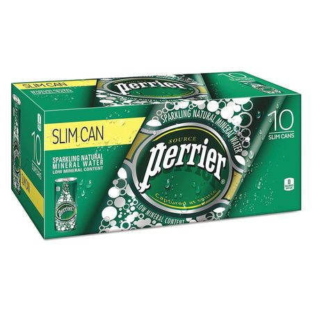 51EE85 Perrier Sparkling Mineral Water, Can, PK30