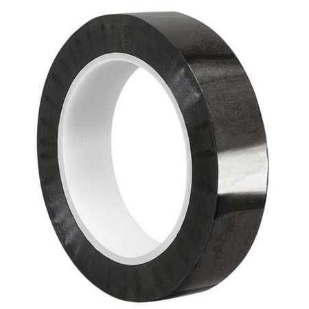 tapecase film tape black 12 x 72 yd mpft black zoro com