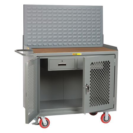 Bench Cabinet, 2 Drawer, Hardboard