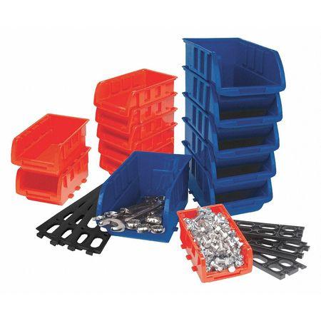 Storage Bin Set 15Pc  sc 1 st  Zoro Tools & Wilmar Storage Bin Set 15Pc W5195 | Zoro.com