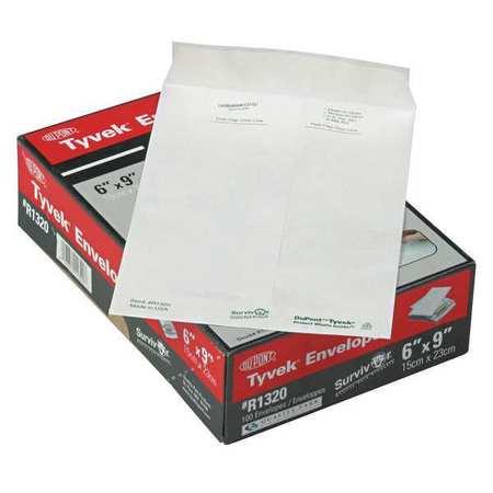 51UF06 Tyvek Mailer, Side Seam, 6x9, PK100