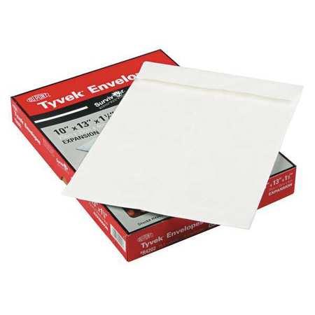 51UF25 Expansion Mailer, 10x13x1.5, White, PK25
