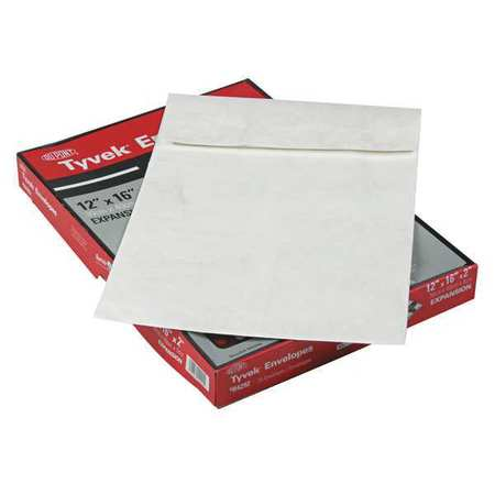 51UF27 Expansion Mailer, 12x16x2, White, PK25