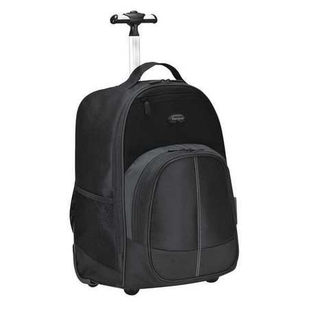 Targus Compact Rolling Backpack, Poly, Black TSB750US | Zoro.com