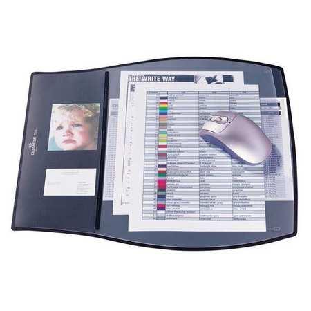 Durable Work Pad 3 Overlays 17 14x15 14 Black 720901 Zorocom