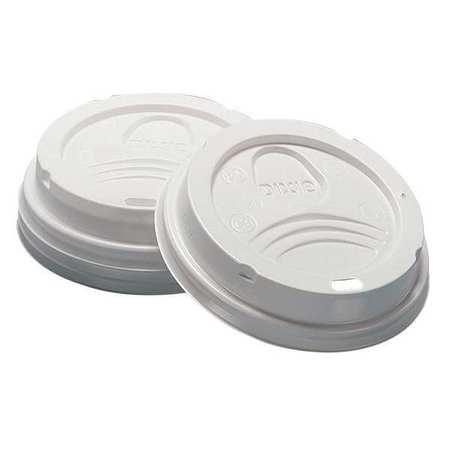Sip Through Dome Pk1000 Hot Cup White DIXIE D9538 Lid for 8 oz