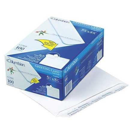 Envelope,Greeting Card,Grip-Seal,PK100