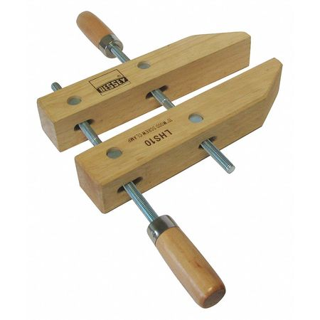 """51ZX73 Wood Handscrew Clamp, 10"""""""