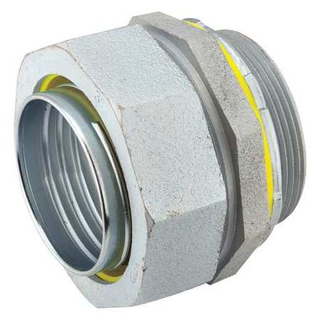 Noninsulated Connector, 1/2 In., Straight
