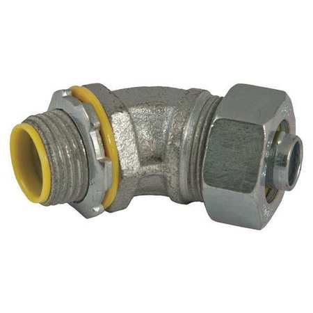 Insulated Connector, 3/8 In., 45 Deg
