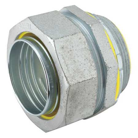 Insulated Connector, 2 In., Malleable Iron