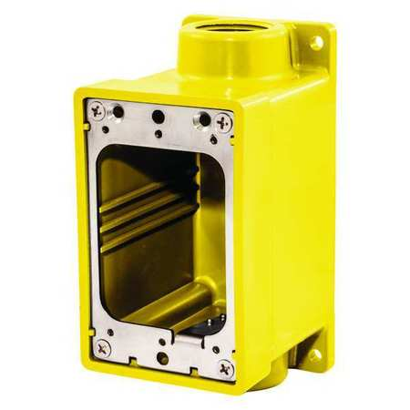 "52HF25 Weatherproof Electrical Box, 1"" Hub Size"