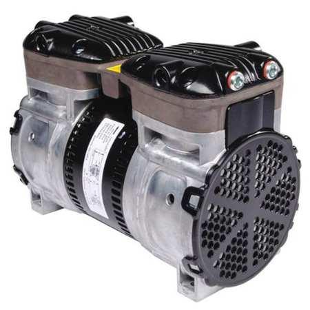 52KA64 Piston Air Compressor, 1/2 HP, 115/230VAC