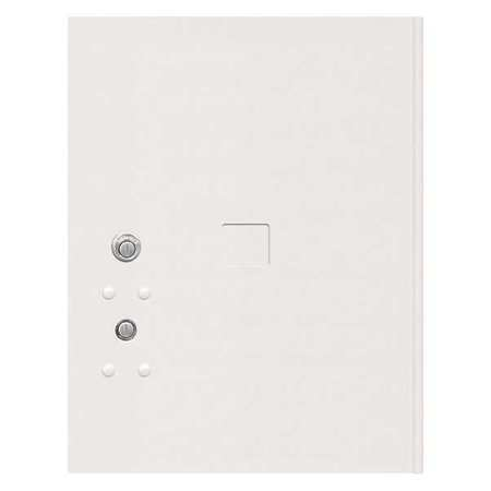 """52TX15 Replacement Door and Lock, 17-1/4""""H/White"""