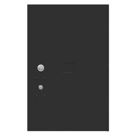 """52TX16 Replacement Door and Lock, 20-3/4""""H/Black"""