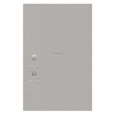 """52TX18 Replacement Door and Lock, 20-3/4"""" H/Gray"""