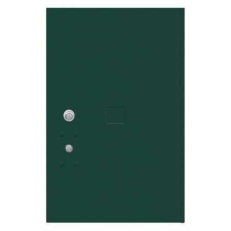 """52TX19 Replacement Door and Lock, 20-3/4""""H/Green"""