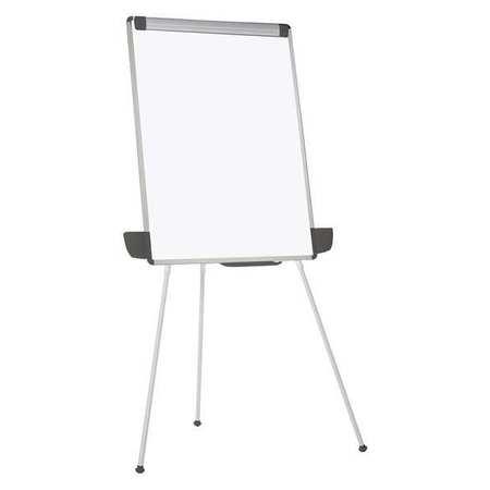 mastervision 67 x36 melamine portable dry erase board plastic