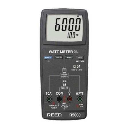reed instruments autoranging digital watt meter, true rms r5000reed instruments autoranging digital watt meter, true rms r5000 zoro com