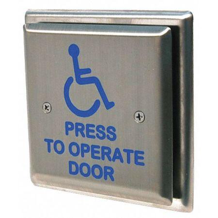 Handicap Door Access Switch Push Button  sc 1 st  Zoro Tools & Ms Sedco Handicap Door Access Switch Push Button 59-HSS   Zoro.com