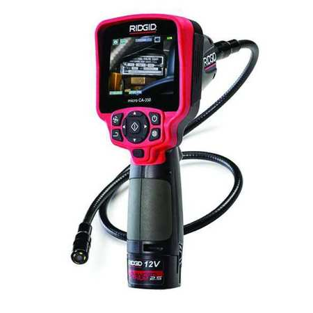 ridgid inspection camera 3 5 monitor size 55898. Black Bedroom Furniture Sets. Home Design Ideas